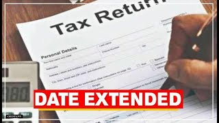 Income Tax due date extension 2020