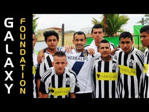 LA Galaxy host soccer clinic in Costa Rica