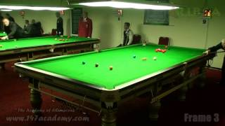 2012 IBSF Championships Mark Tuite Vs Brendan Cooney