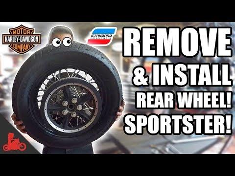 harley davidson wheel diagram how to remove   install rear wheel tire change  harley  install rear wheel tire change