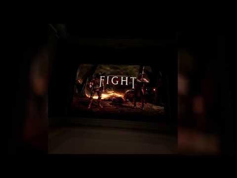 Mortal kombat X in a Virtual movie theater