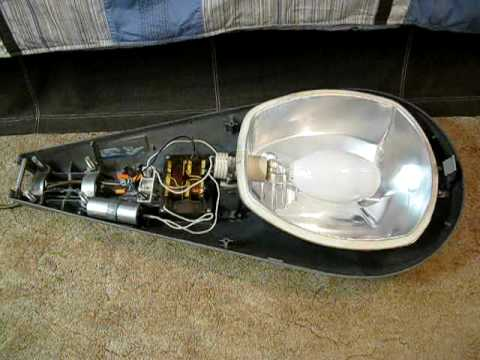 westinghouse ov 25 400watt mercury vapor street light youtube rh youtube com