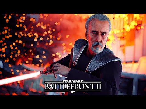 Star Wars Battlefront 2 - Epic Moments #40 COUNT DOOKU