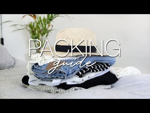Travel capsule | what to pack for any vacation