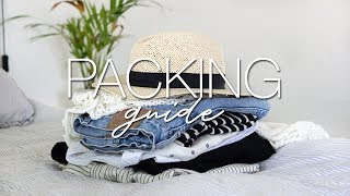 Travel capsule   what to pack for any vacation