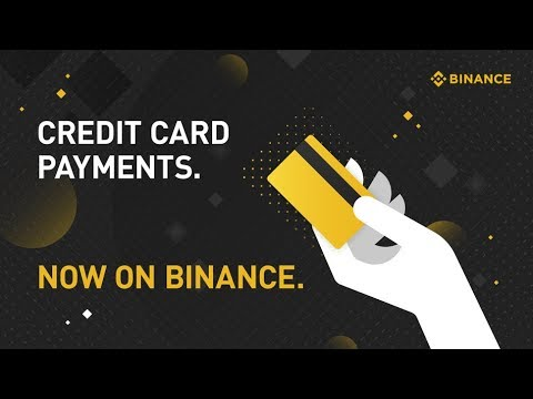 How to Buy Cryptocurrency with Credit Card on Binance