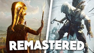 Assassin's Creed 3 Remastered & Odyssey Season Pass, DLC, Atlantis, Gameplay, & More!