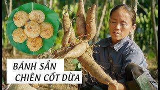 Giản Dị Với Món Bánh Sắn Chiên Cốt Dừa Hương Vị Quê Hương | Ẩm Thực Bà Tân