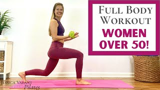 15 Minute Full Body Workout For Women Over 50 - Strength \u0026 Balance