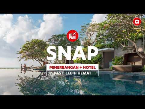 airasia | Cara Pesan SNAP! | Paket Penerbangan + Hotel