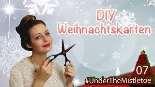 DIY Weihnachtskarten ❄ Tür 7 ❄ Under the Mistletoe Thumbnail