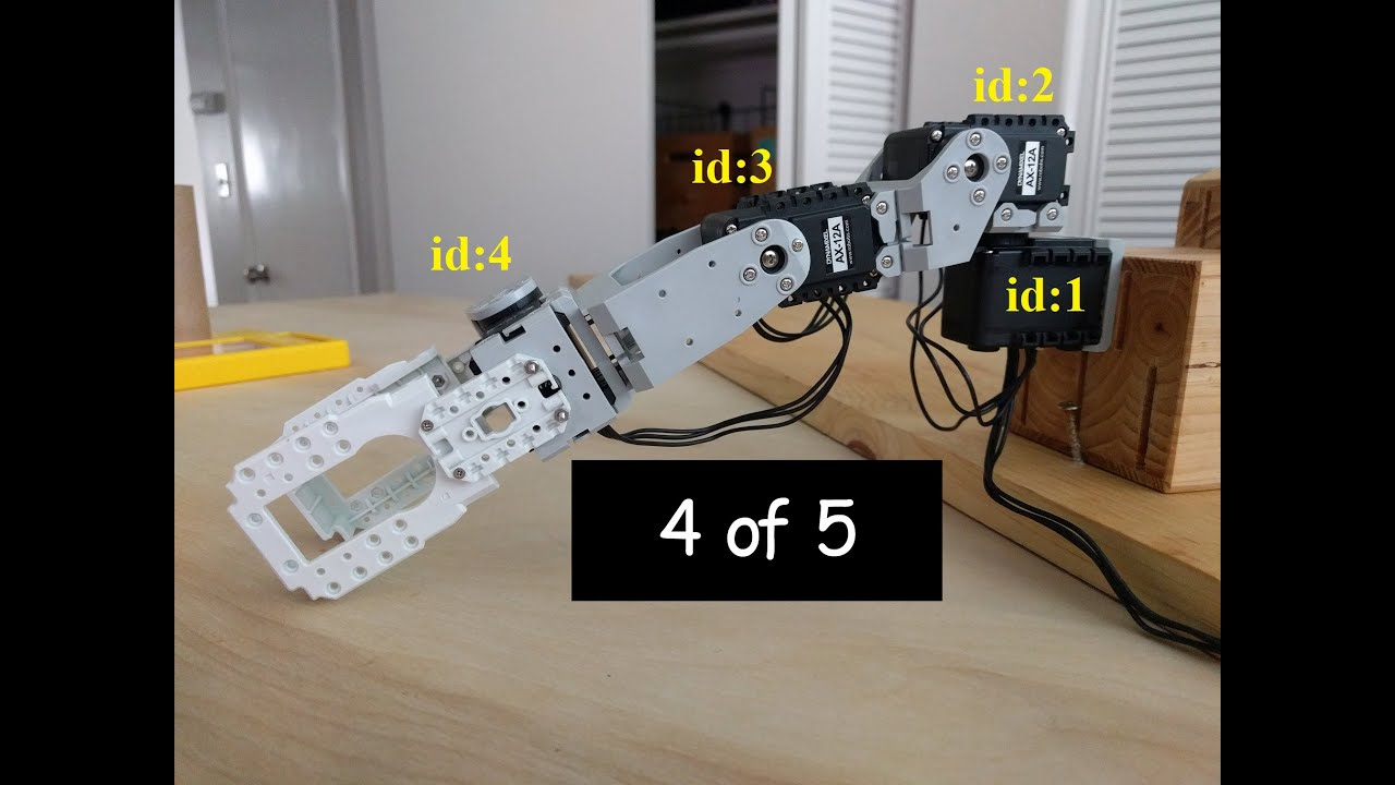 Python Programmable DIY Robot Arm (4 of 5)