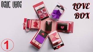 HƯỚNG DẪN LÀM LOVE BOX LỤC GIÁC (Phần 1)- Explosion Box Tutorial- NGOC VANG Handmade