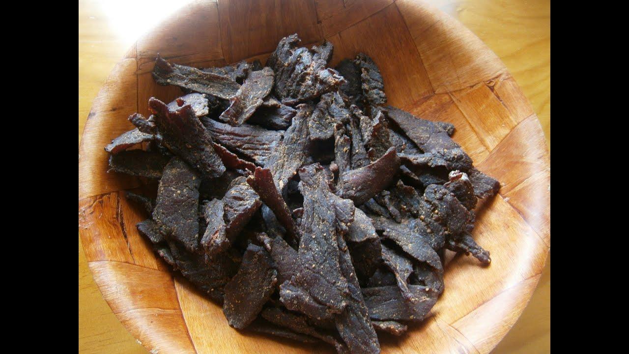 Traditional Smoked Beef Jerky Recipe Fail Safe Youtube