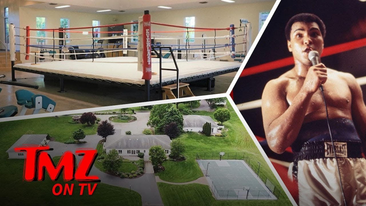 Muhammad Ali's Widow is Selling Fighter's Boxing Ring Farmhouse | TMZ TV
