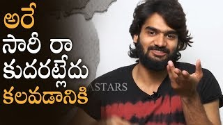 RX 100 Hero Karthikeya Says Sorry To His Friends In Live | Manastars