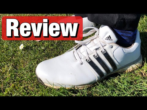 Adidas Tour360 XT SL golf shoes review & on feet