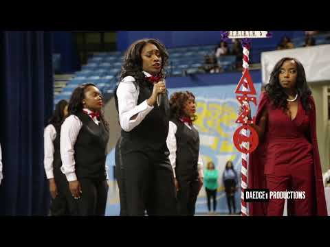 Alpha Tau Chapter of Delta Sigma Theta New Initiate Presentation Spring 2018