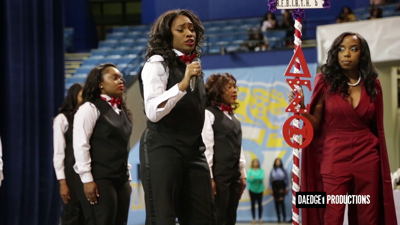 897ae1d5a61 Alpha Tau Chapter of Delta Sigma Theta New Initiate Presentation Spring 2018