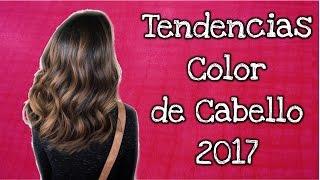 Tendencias color de cabello 2017