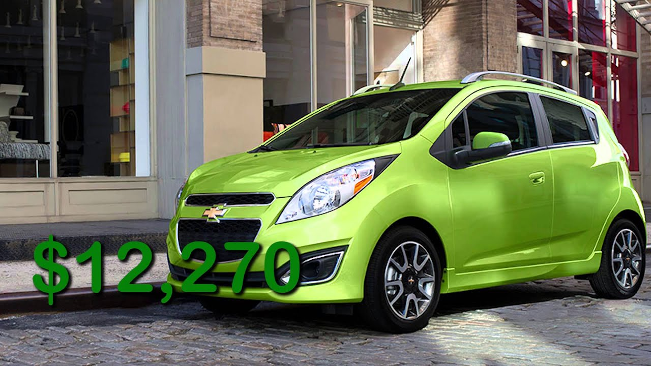 Four Cheapest Cars In America Versa Vs Spark Vs Mirage Vs
