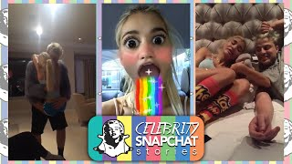 PIA MIA 19th Birthday Snapchat Compilation PART 1