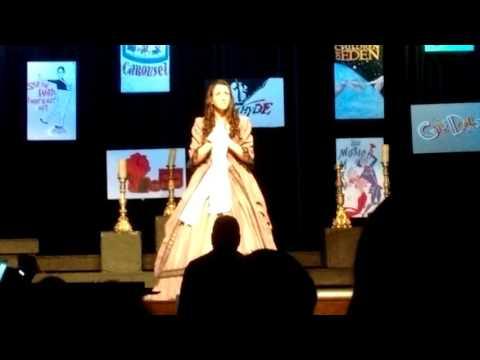 Jordan Beck, Think of Me, Phantom of the Opera, Great Valley High School 2015