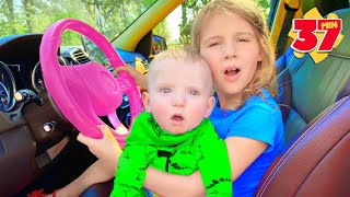 Five Kids We in the car + more Nursery Rhymes & Children's Songs