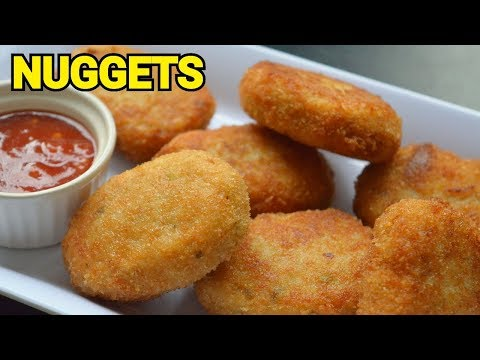 CHICKEN NUGGETS || LUNCH BOX RECIPE By (YES I CAN COOK) #Nuggets #KidsSpecial #Tiffin #LunchBox