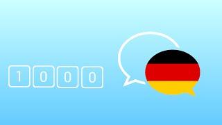 1000 Câu Tiếng Đức Giao Tiếp Hằng Ngày Thông Dụng Nhất - Learn German Phrase - German Conversation