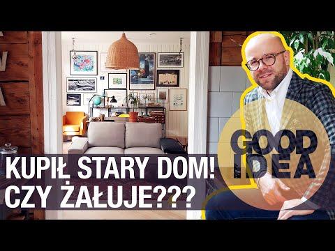 Michał Kędziora kupił stary, drewniany dom. Czy żałuje?   GOOD IDEA