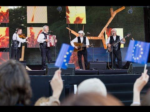 Eesistumise avakontsert. Estonian Presidency opening concert: Kultuurikatel, Freedom Square