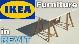 Ikea Furniture Family In Revit Tutorial