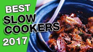 Best Slow Cookers In 2017 (Chefman, Hamilton Beach, Elite Platinum,  Proctor-Silex, Crock-Pot)
