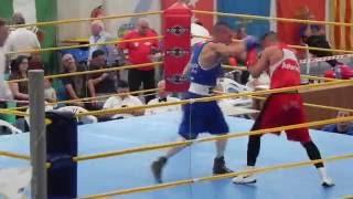 """Asalto 3 :Campeonato de España de Boxeo Amateur 2016(Eloy Figueira """"Bengala"""")"""