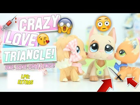 LPS: CRAZY Love Triangle! - One-Take-Challenge! (feat. Moni, My Cousin!)