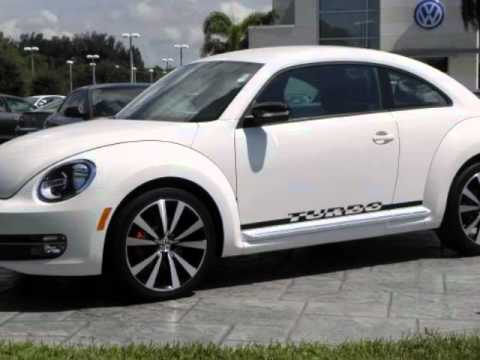 volkswagen beetle dr cpe dsg  white turbo launch edition youtube