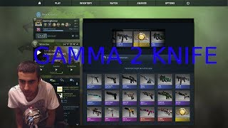 CSGO : GAMMA CASE 2 KNIFE UNBOXING - GIVEAWAY