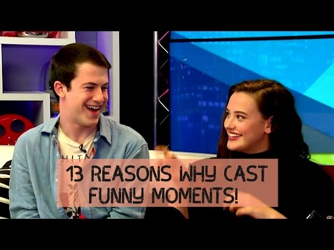 13 Reasons Why Cast funny  moments!