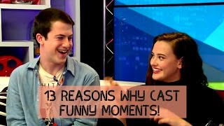 13 Reasons Why Cast funny interview moments!