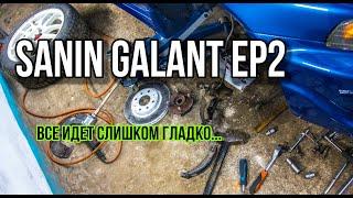 видео отремонтировать автомобиль mitsubishi galant