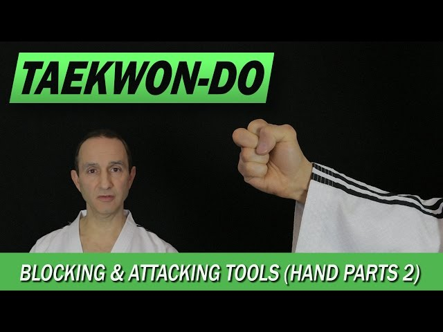 Taekwon-Do: Blocking & Attacking Tools (Hand Tools 2)