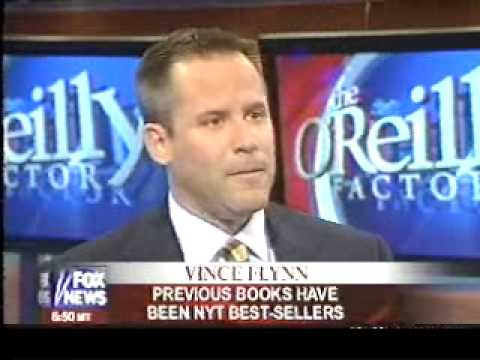 Vince Flynn's first appearance with Bill O'Reilly in 2005