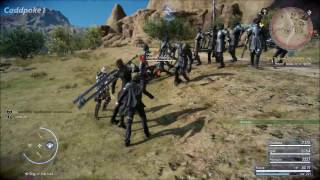 Final Fantasy XV Ring of the Lucii Holy, Death, & Alterna Gameplay