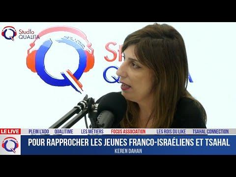 Pour rapprocher les jeunes franco-israéliens et Tsahal - Focus#430