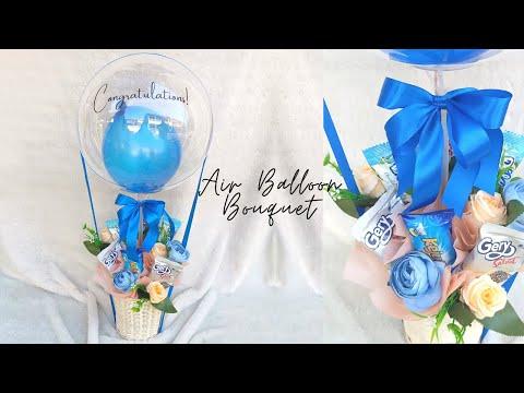 Air Balloon Bouquet   Balon PVC