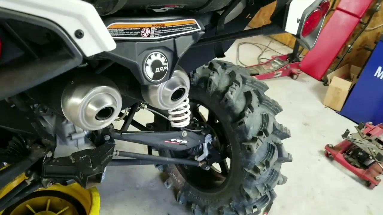 Can-Am Maverick MAX Front /& Rear Wheel Bearings Complete Set
