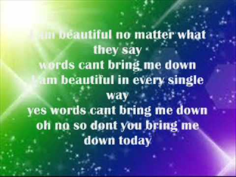 China Anne Mcclain - Beautiful lyrics