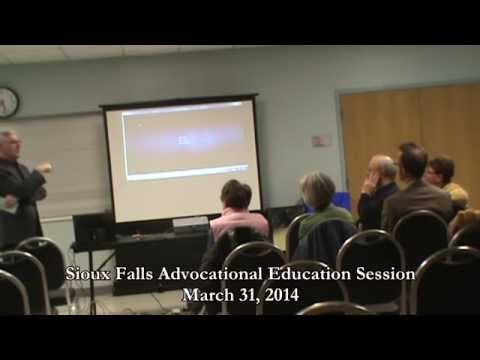 Sioux Falls Advocational Education Session...