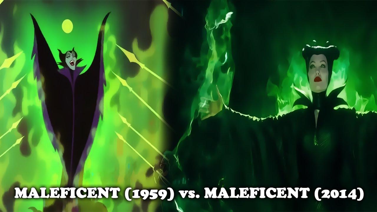 Sleeping Beauty 1959 Vs Maleficent 2014 Similarities